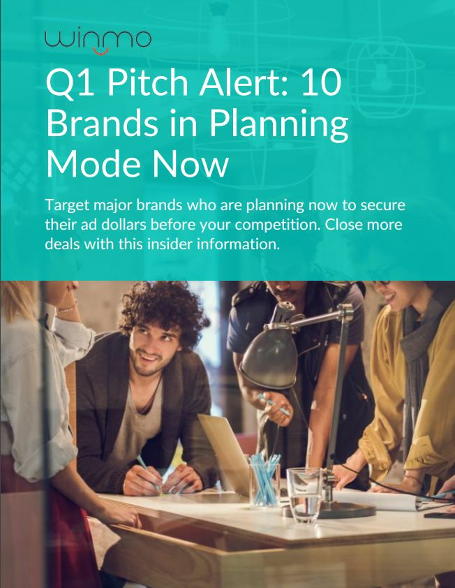 Q1 Pitch Alert_10 Brands in Planning Mode Now
